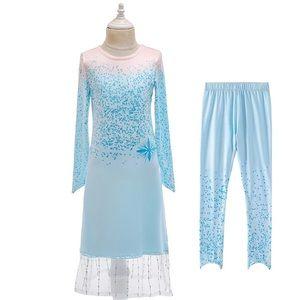 Frozen Elsa costume 2 pieces